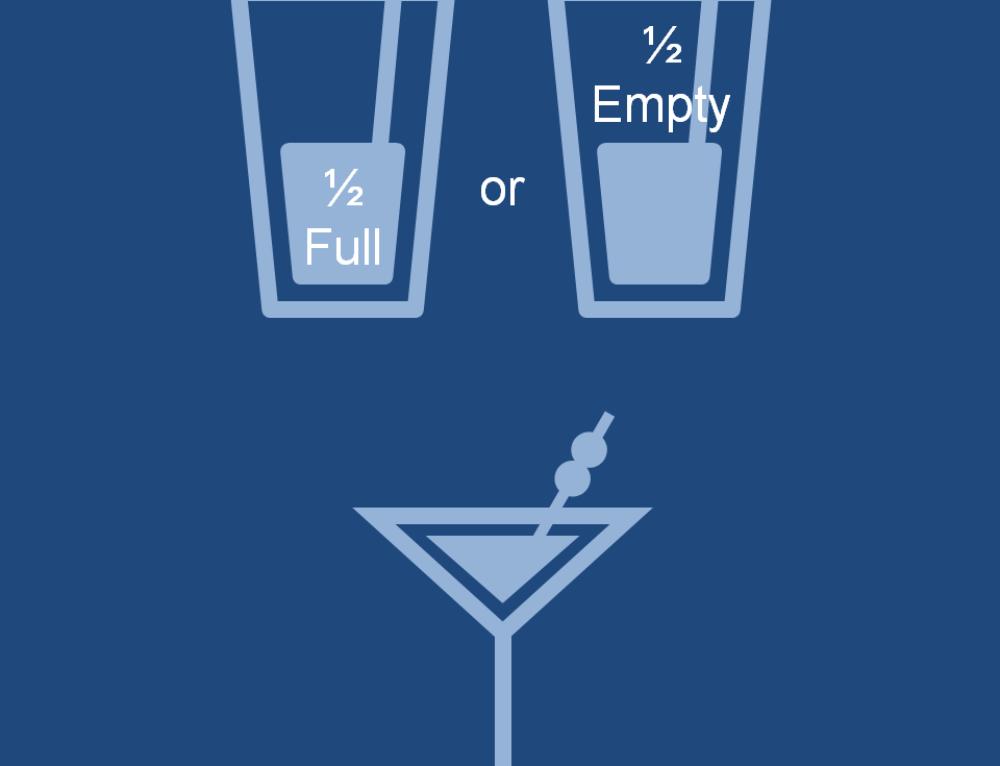 An Optimist, a Pessimist and a Marketer walk into a bar…